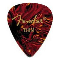 FENDER PICK - CLASSIC CELLULOID SHELL THIN